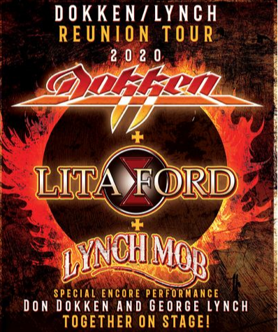 FOTF Concerts - Dokken with Lita Ford & Lynch Mob - July 10, 2020, doors 5:30pm