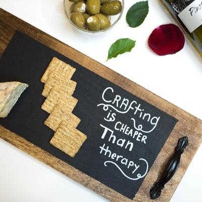 Wine & Cheese Chalkboard Kit