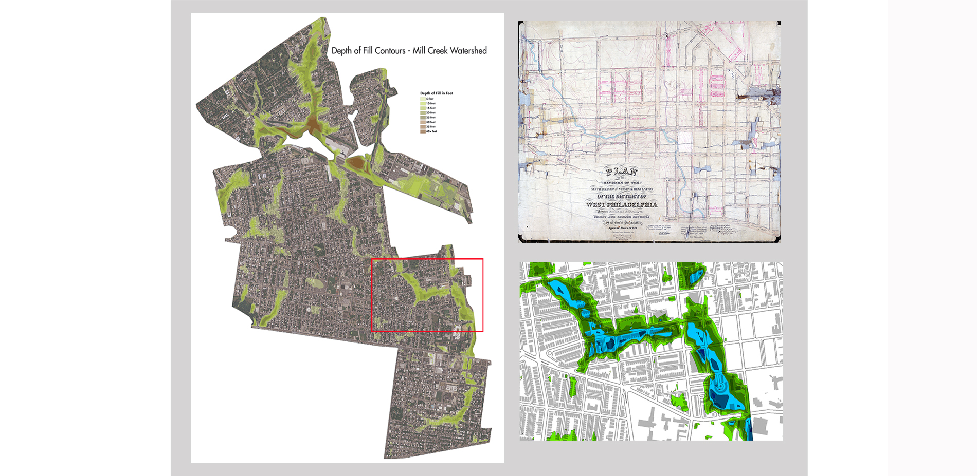 Mapping the Buried Floodplain (2015)