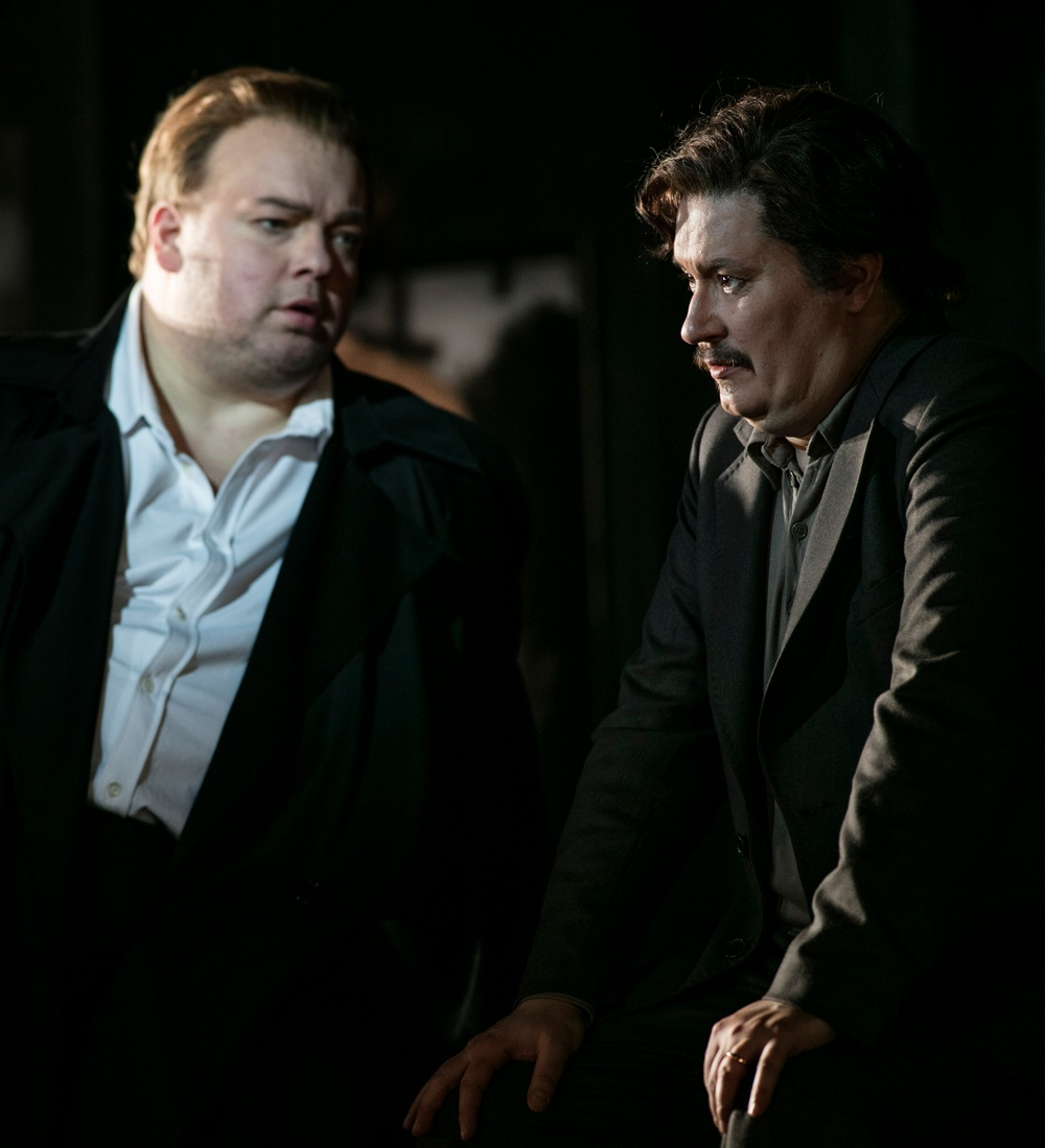 Marcus Jupither (Frank) och Daniel Frank (Paul).