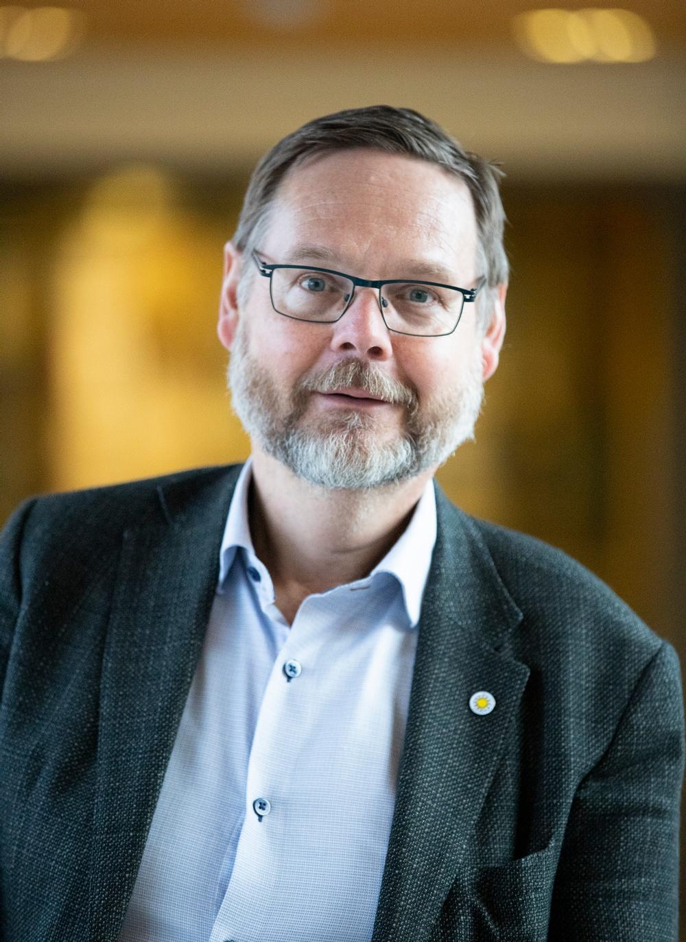Porträtt av rektor Johan Sterte