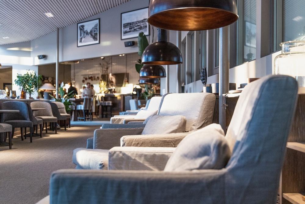 Torekovs nya lounge och relaxområde
