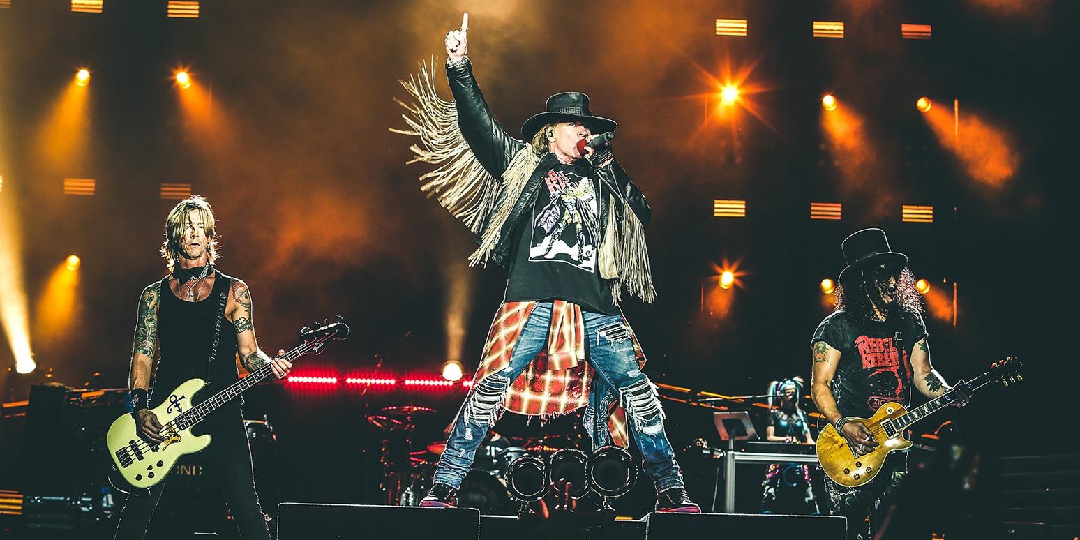 Slash confirms Guns N' Roses is working on new album