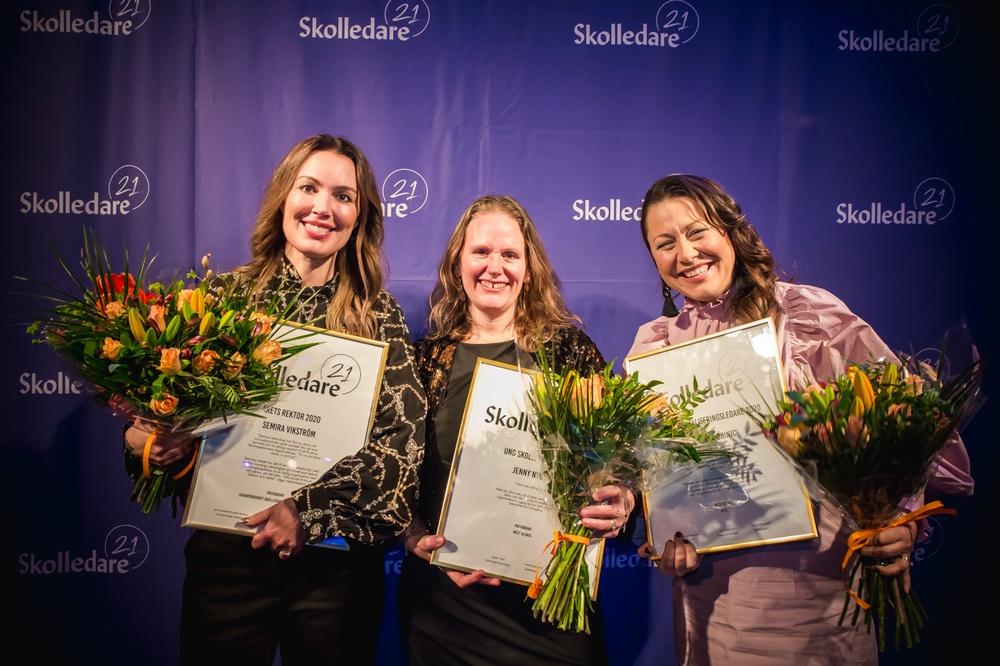Semira Vikström, Jenny Nyberg & Stojanka Drinic