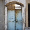 Front Door,  Synagogue, Ghar Al Milh (غارالملح‎), Tunisia, Chrystie Sherman, 7/24/16