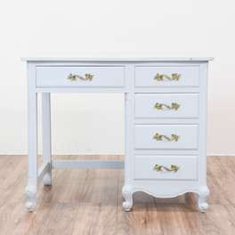 Light Gray French Provincial Desk