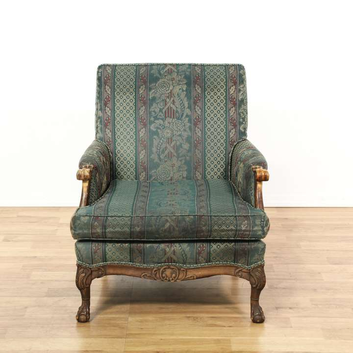 His Amp Hers Victorian Upholstered Parlor Armchairs