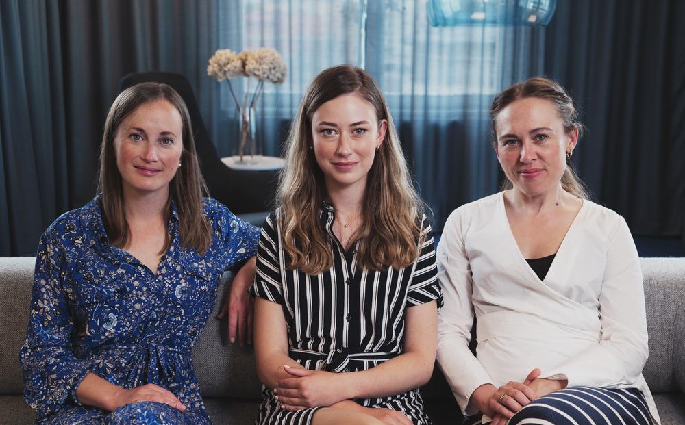 Christine Gouldthorp, Evelina Galli & Katrine Barslev
