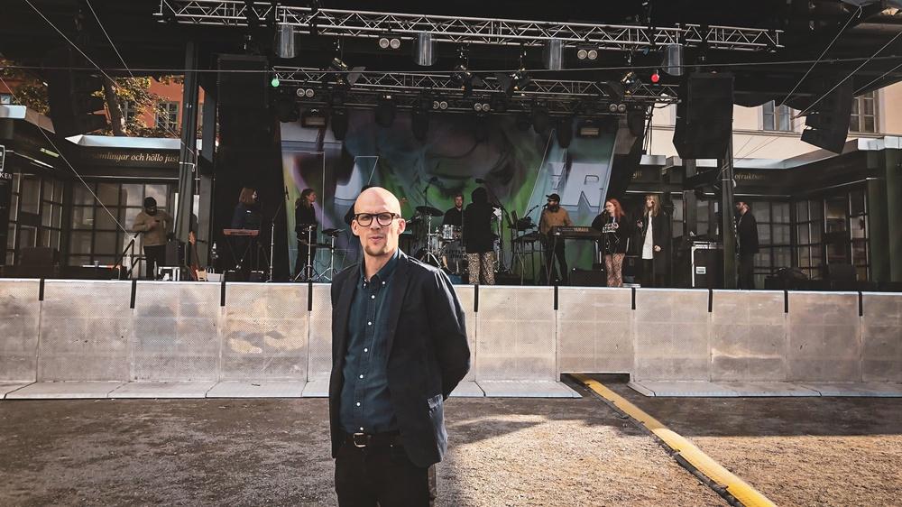 Samuel Laulajainen, vd Södra Teatern.