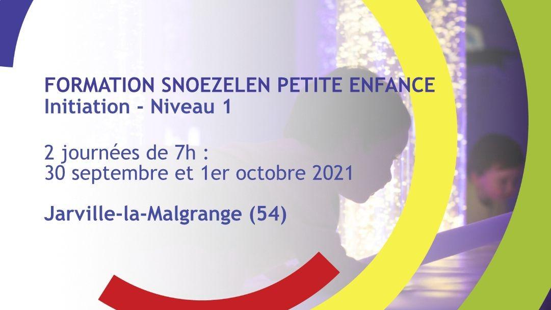 Représentation de la formation : Formation Snoezelen Petite Enfance - Initiation - Niveau 1 - Jarville-la-Malgrange (54)