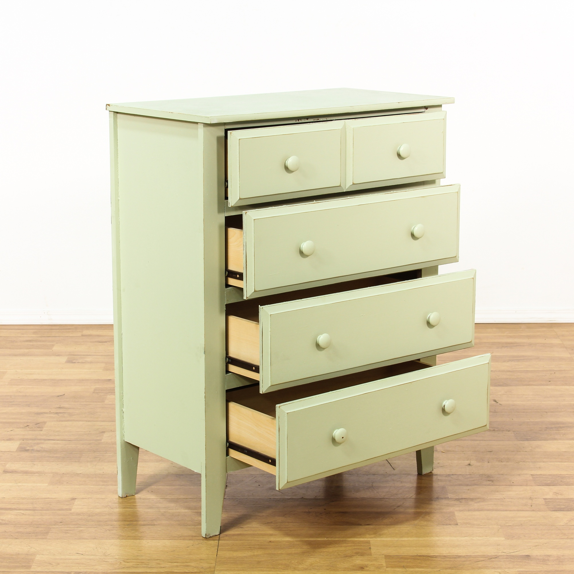 shabby chic sage green chest of drawers loveseat vintage furniture san diego los angeles. Black Bedroom Furniture Sets. Home Design Ideas