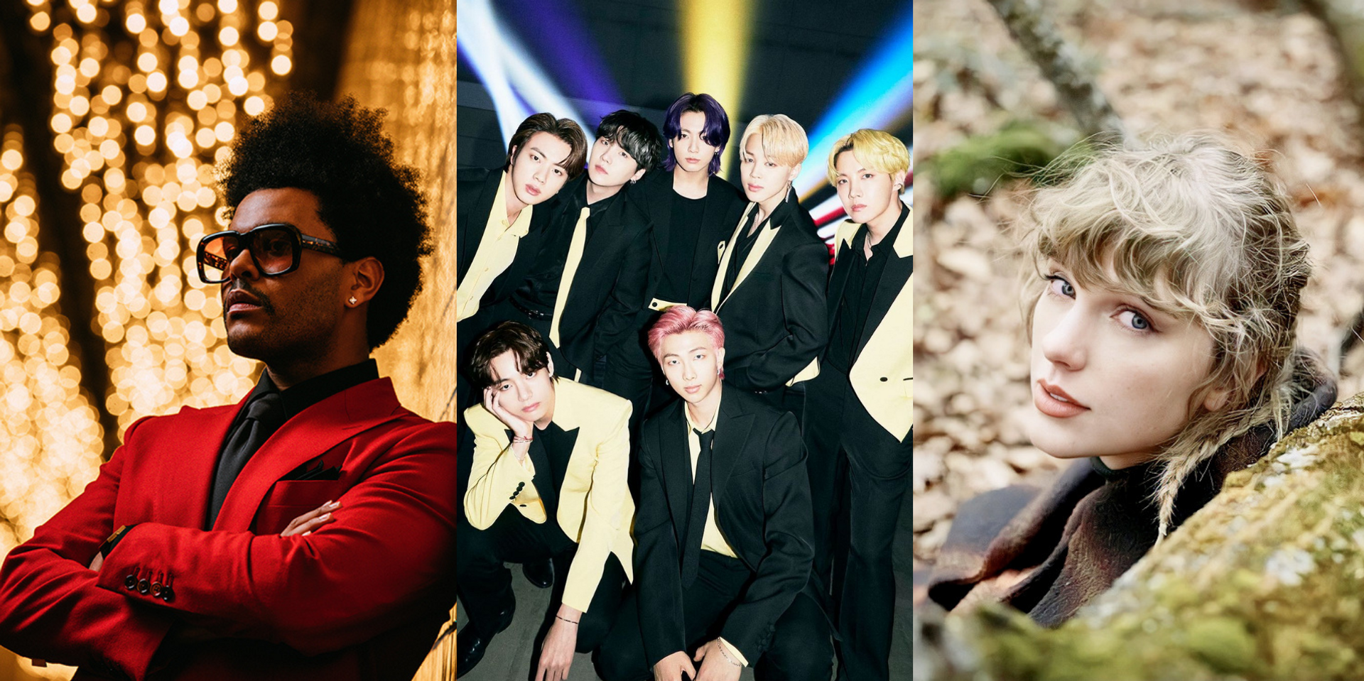 Here are the winners of the 2021 Billboard Music Awards – BTS, Taylor Swift, The Weeknd, and more