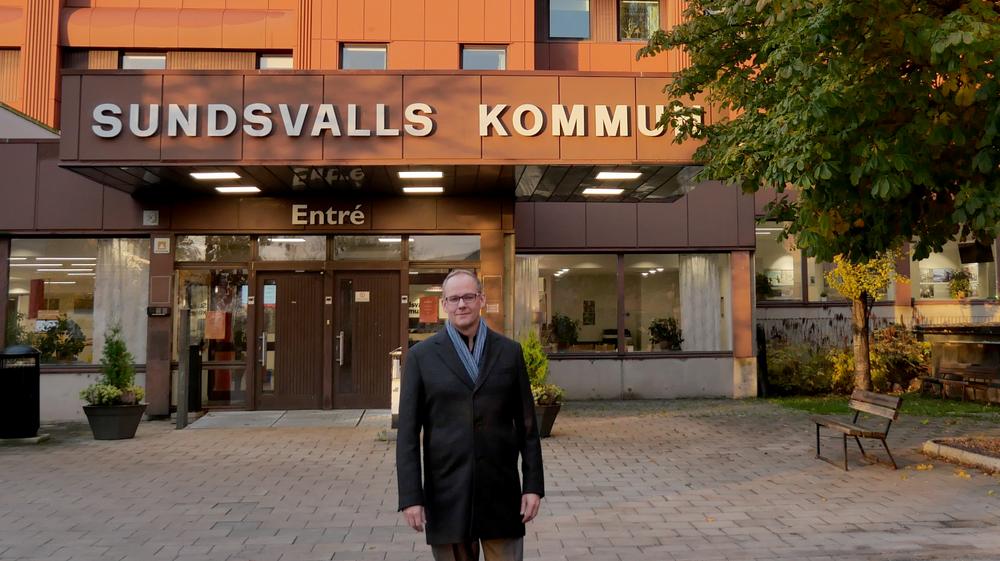 Jonas Walker blir kommundirektör i Sundsvalls kommun