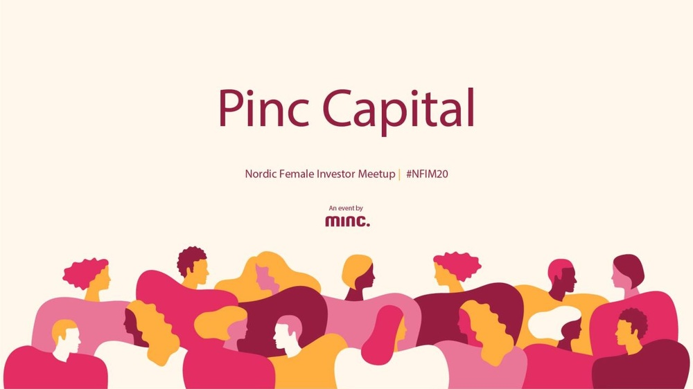 Pinc Capital - a pitching competition during Nordic Female Investor Meetup.