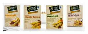 Organic cereal range
