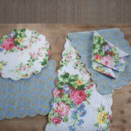 @mycountrygrace Country Grace Cottage Rose Table Linens Link Thumbnail | Linktree