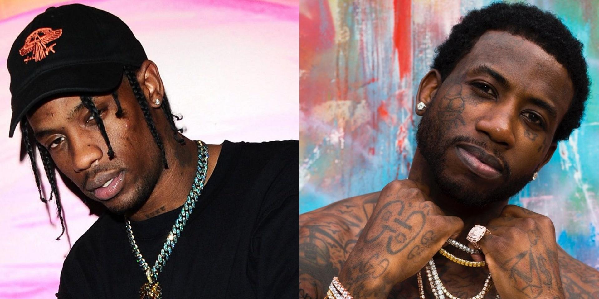 Travis Scott premiered unreleased track 'Murda' with Gucci Mane