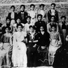 Class photo, 1905, Laura Kadoorie Alliance Israelite Universelle, School, Baghdad, Iraq. Photo courtesy Alliance I.U. Archives.