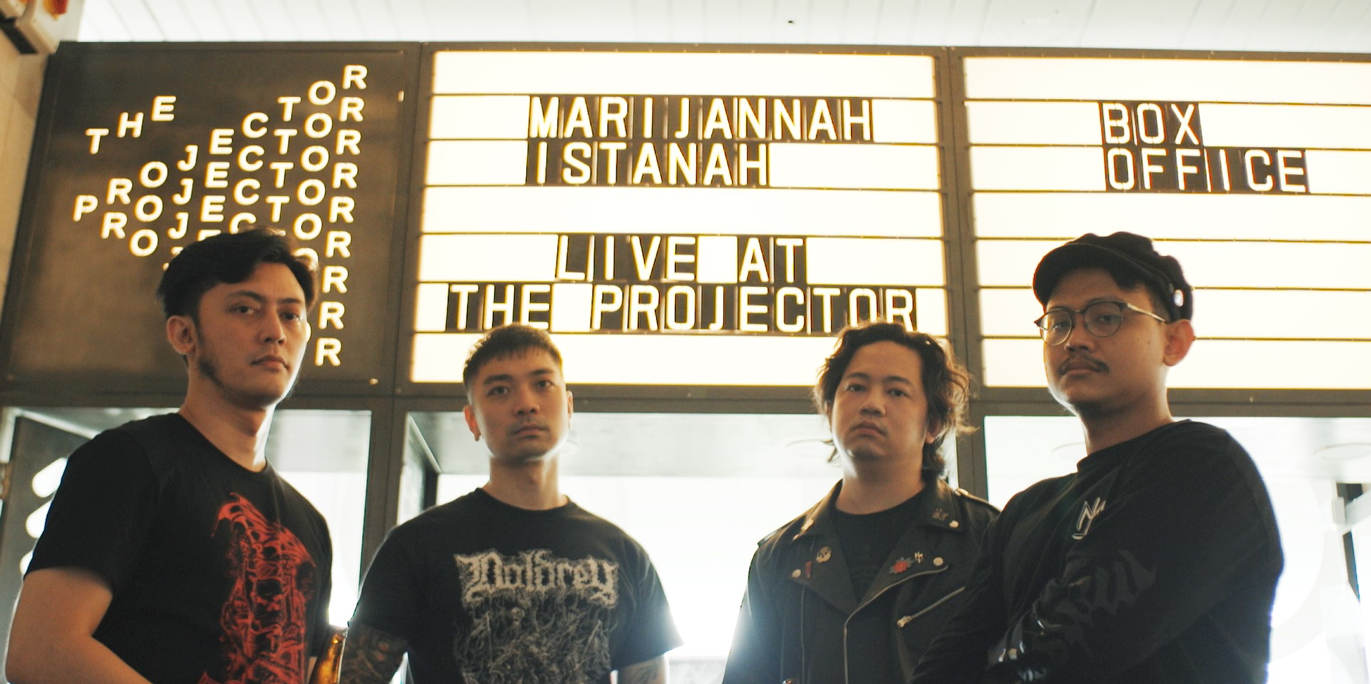 Behind the Lens: Marijannah on filming Istanah Live At The Projector in an empty movie theatre