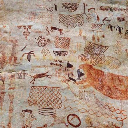 El Guaviare Rock Paintings & Amazon Jungle
