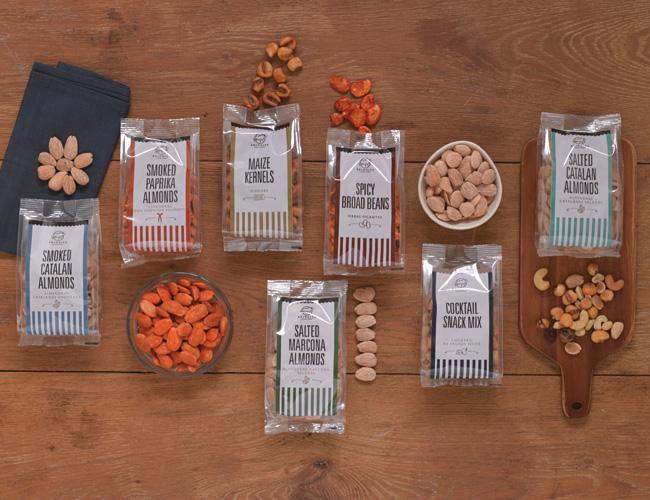 Brindisa flavoured almonds