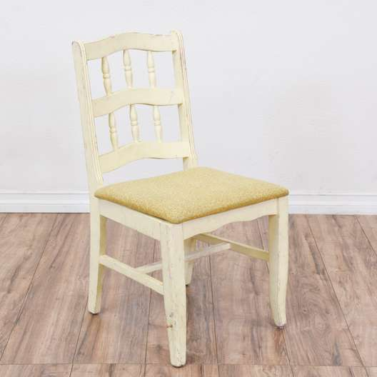 Off White Shabby Chic Dining Chair