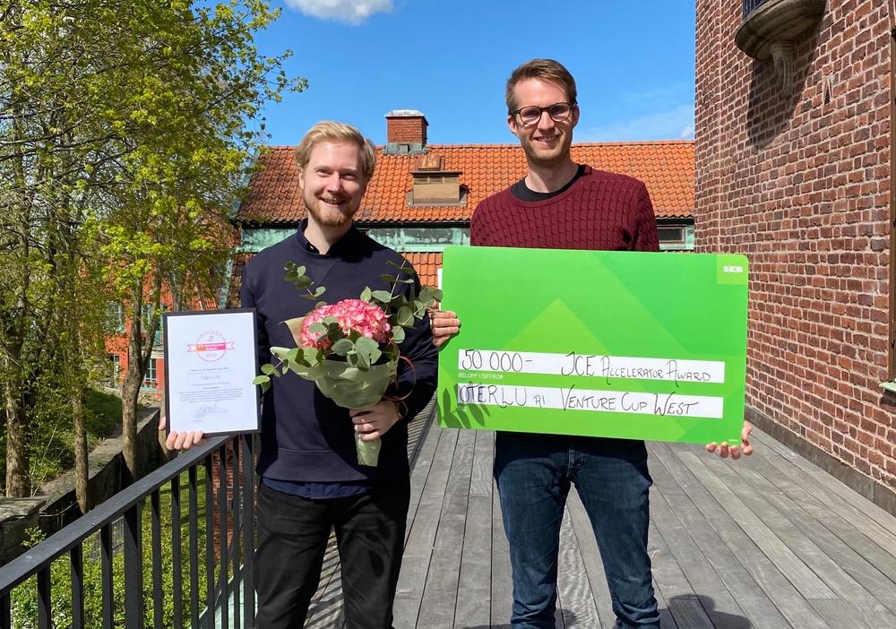 Ludvig Gee & Sebastian Nabrink från Oterlu. Fotograf: Josefine Oldenstedt