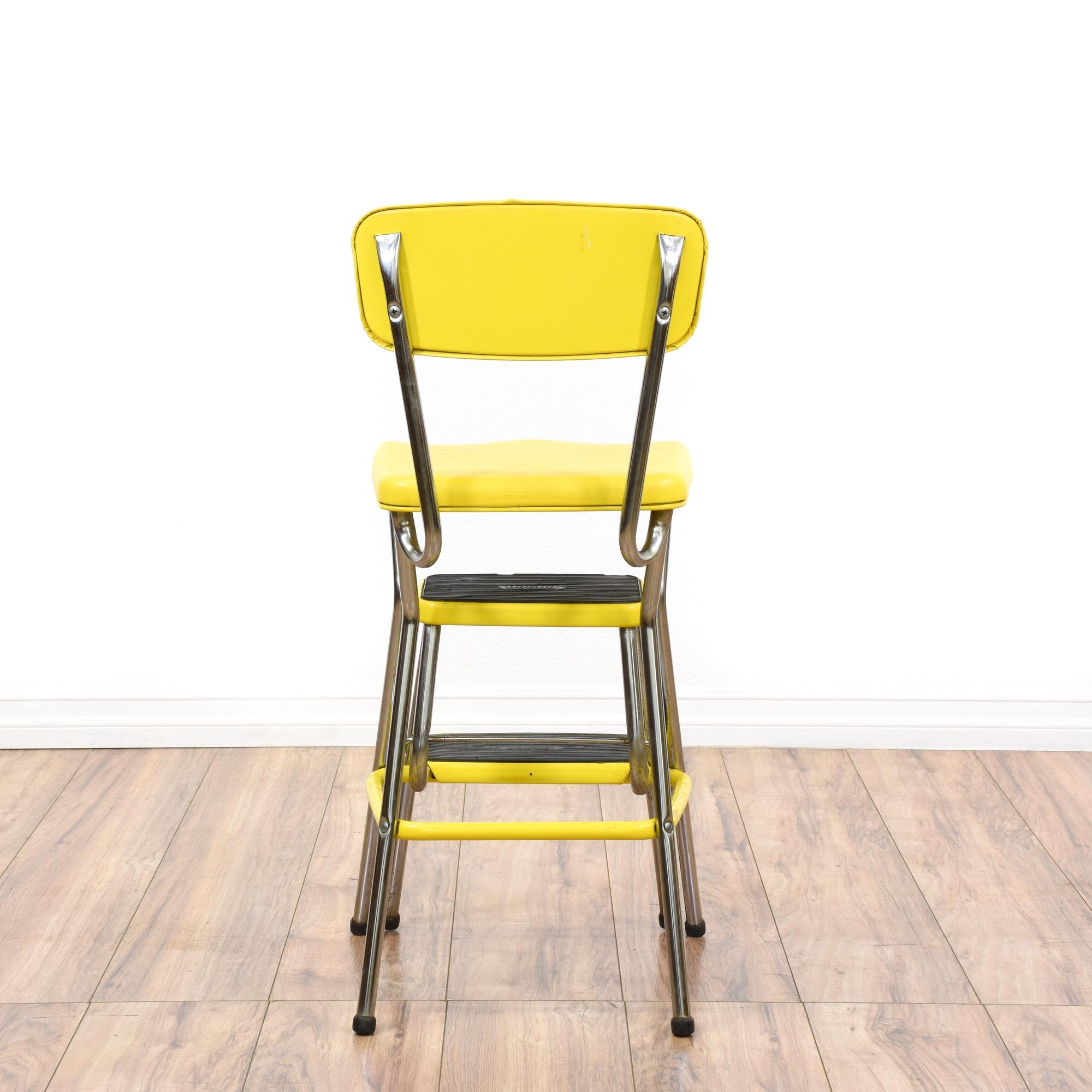 cosco step stool yellow