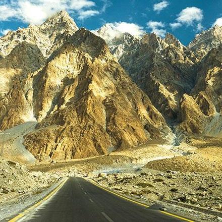 Karakorum Highway, Passu, Pakistan
