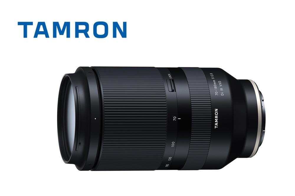 Tamron kuria kompaktišką 70-180 mm f/2.8 objektyvą Sony E sistemai
