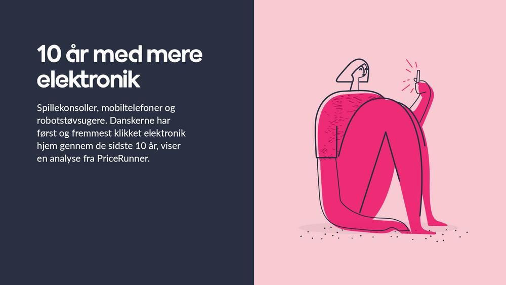 Danskernes favoritprodukter gennem 10 år: elektronik