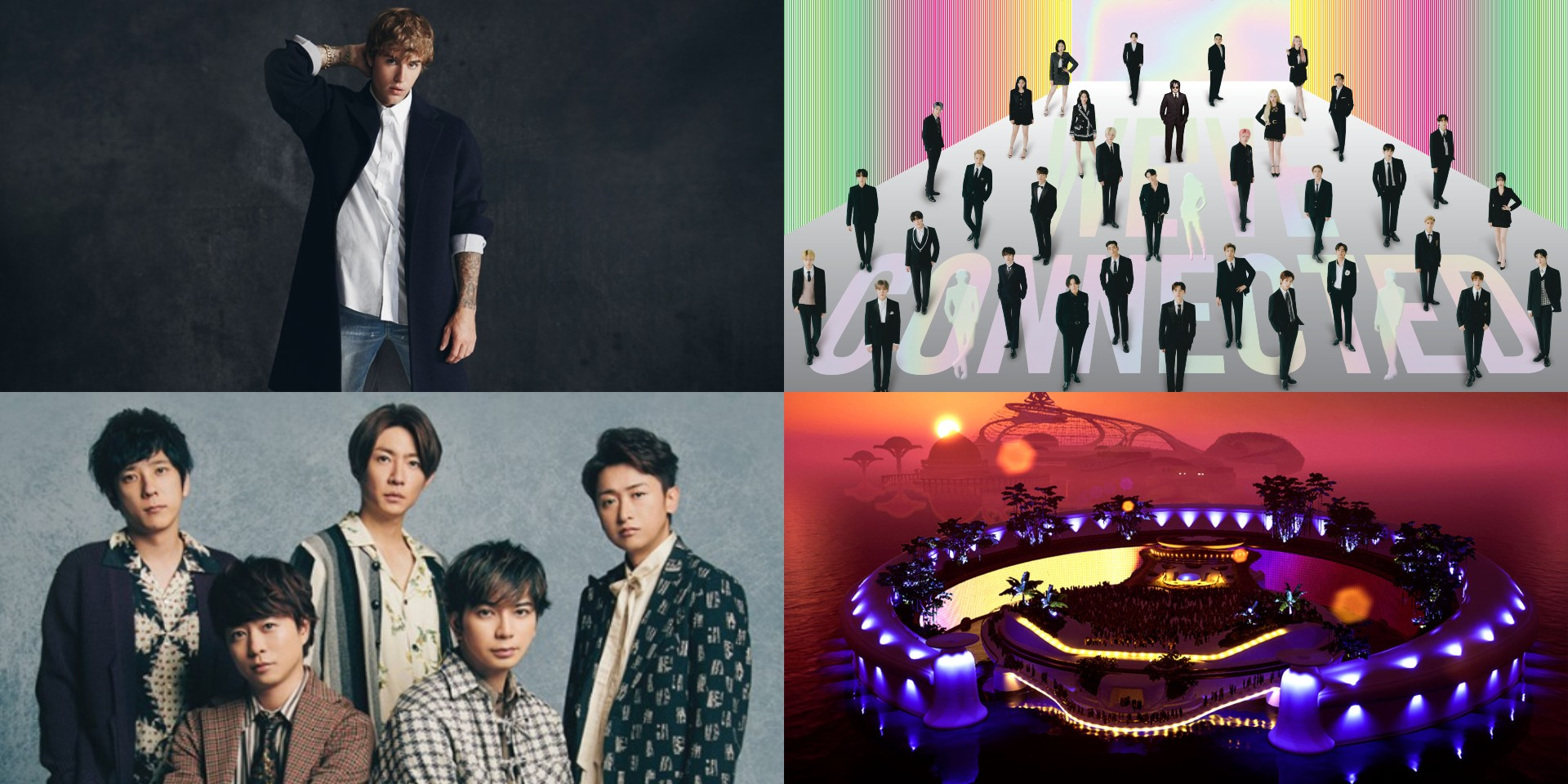 New Year's Eve virtual concert guide – Justin Bieber, Big Hit Labels, ARASHI, Tomorrowland, and more
