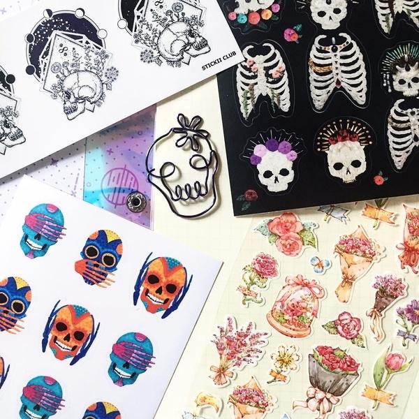 May Pop Pack: Skulls & Flowers