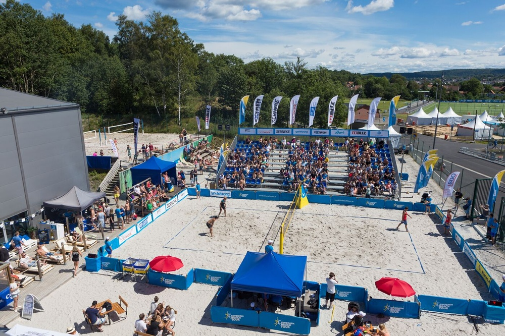 CMore/Sportkanalen sänder U20-EM i beachvolley