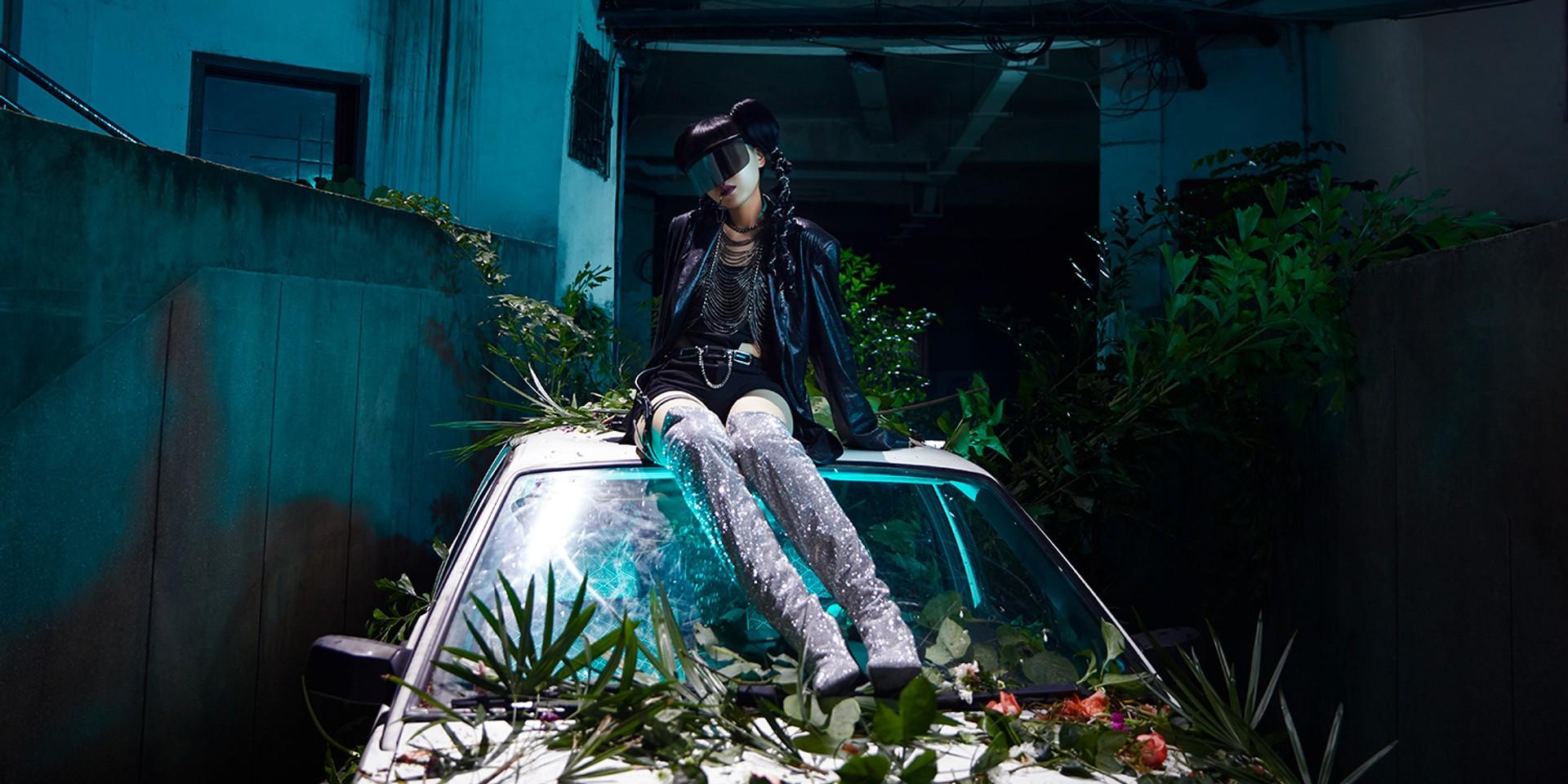 电音猫女Jasmine Sokko楚晴 首支中文单曲《嘘》声出辑