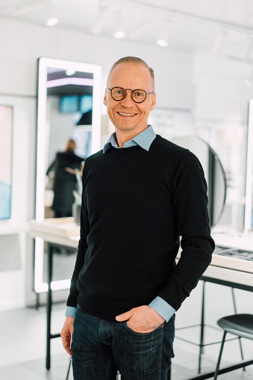 Mikael Parsmo, ny chef för Produkt- och Designavdelningen på Smarteyes.