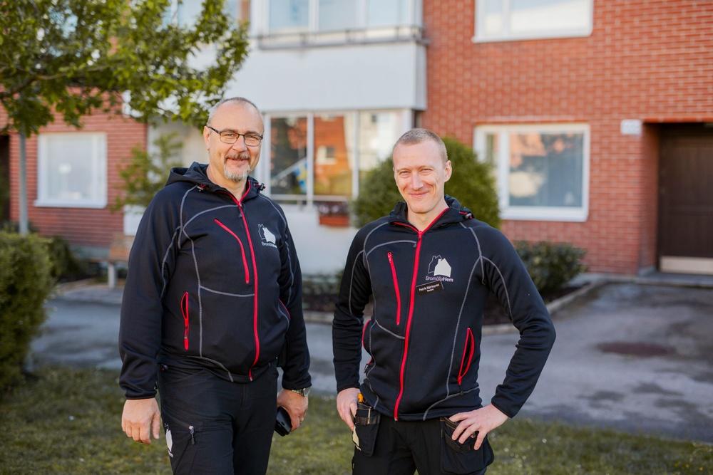 Martin Grahn och Patrik Björkqvist, Bovärdar på BromöllaHem