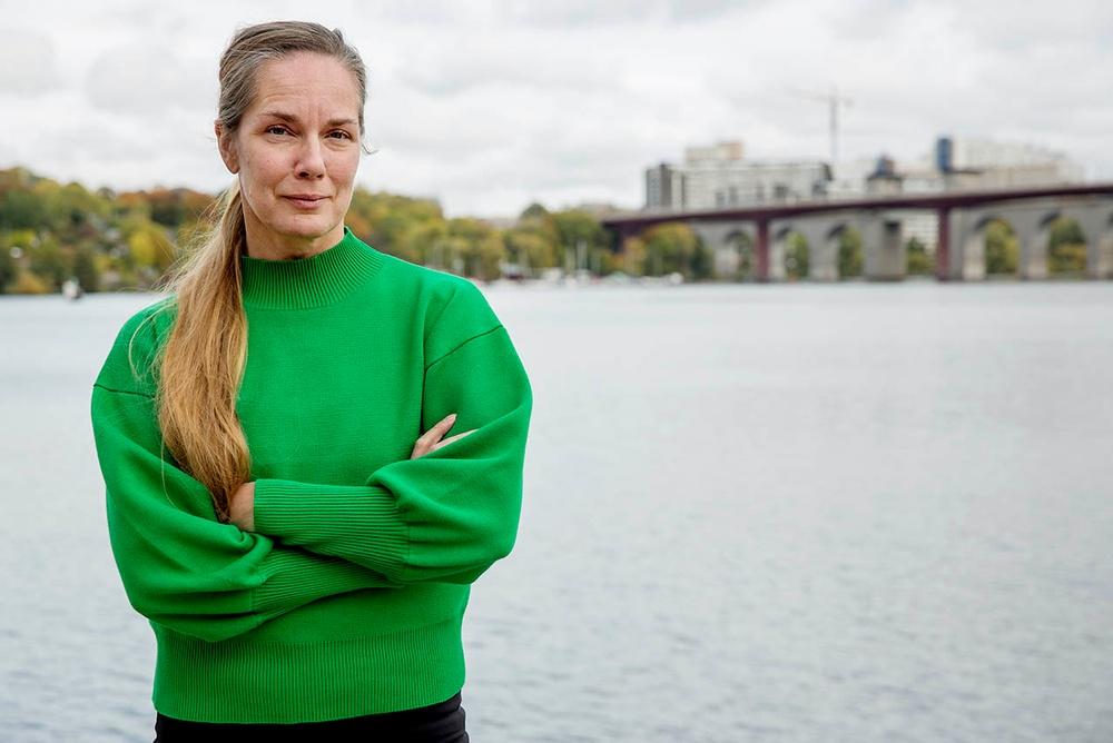 Alexandra Wendt från Stadsmissionen.