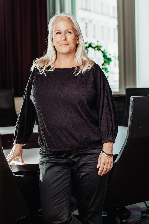 Sara Brandt, vice vd, Chef Affärsområde Företagspartner, Almi
