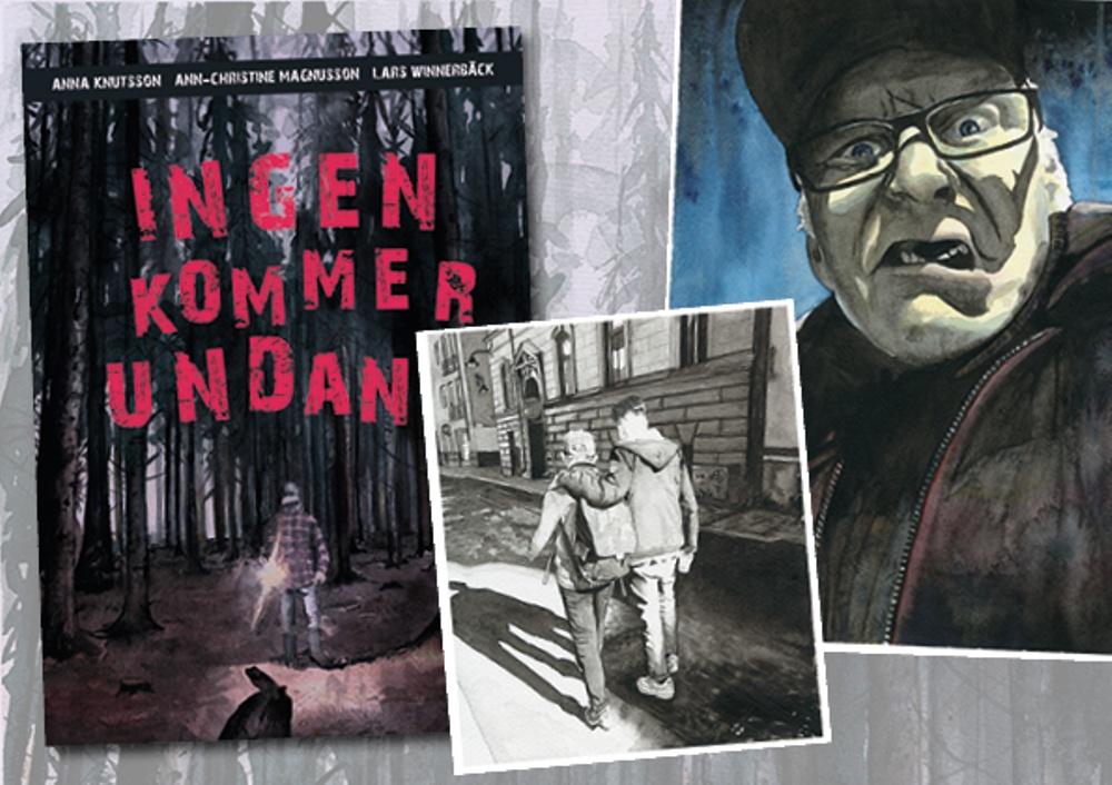 Omslag och illustrationer av Lars Winnerbäck
