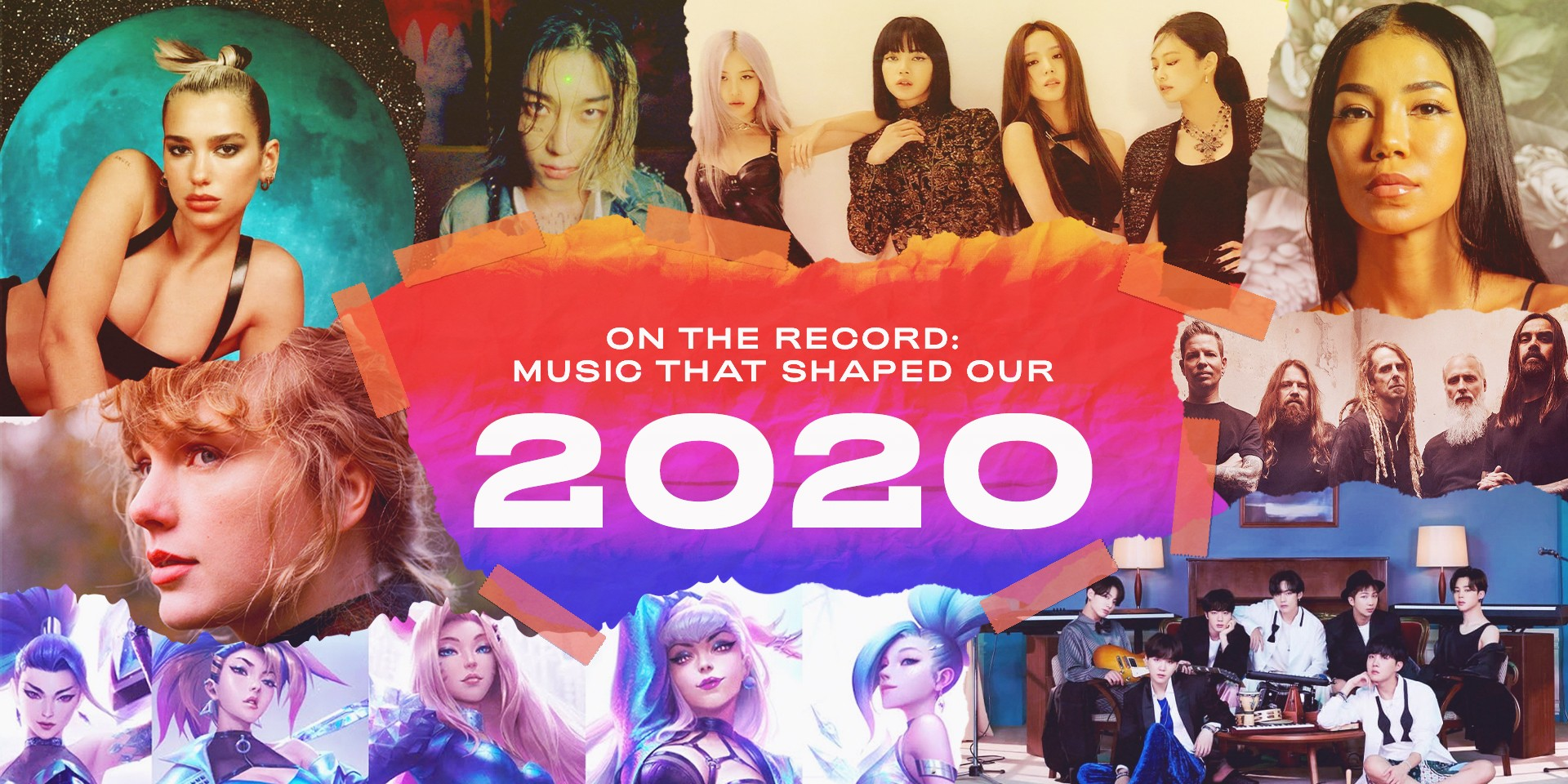 On The Record: The music that shaped our 2020