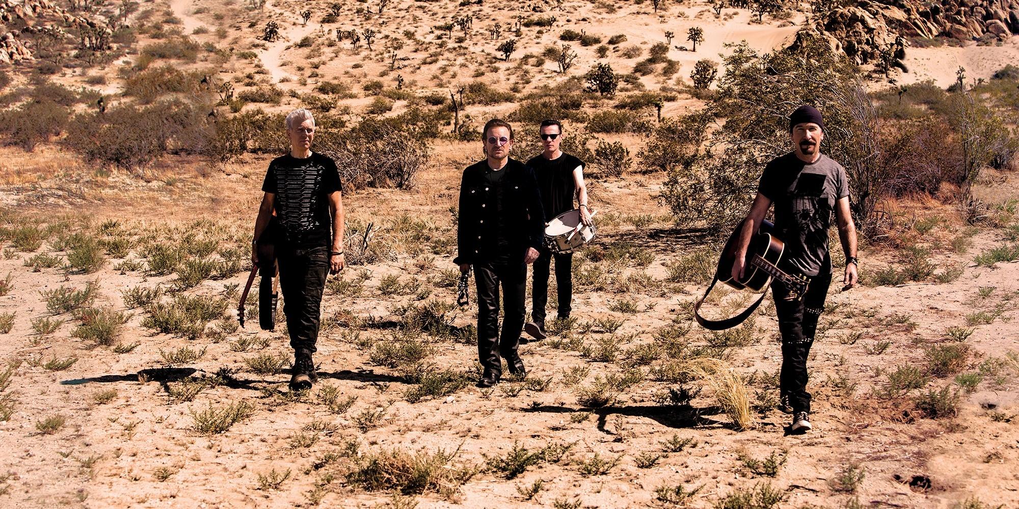 U2 add the Philippines to The Joshua Tree World Tour