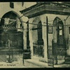 Great Synagogue, Courtyard, Side View (Aleppo, Syria, Early 20th Century)