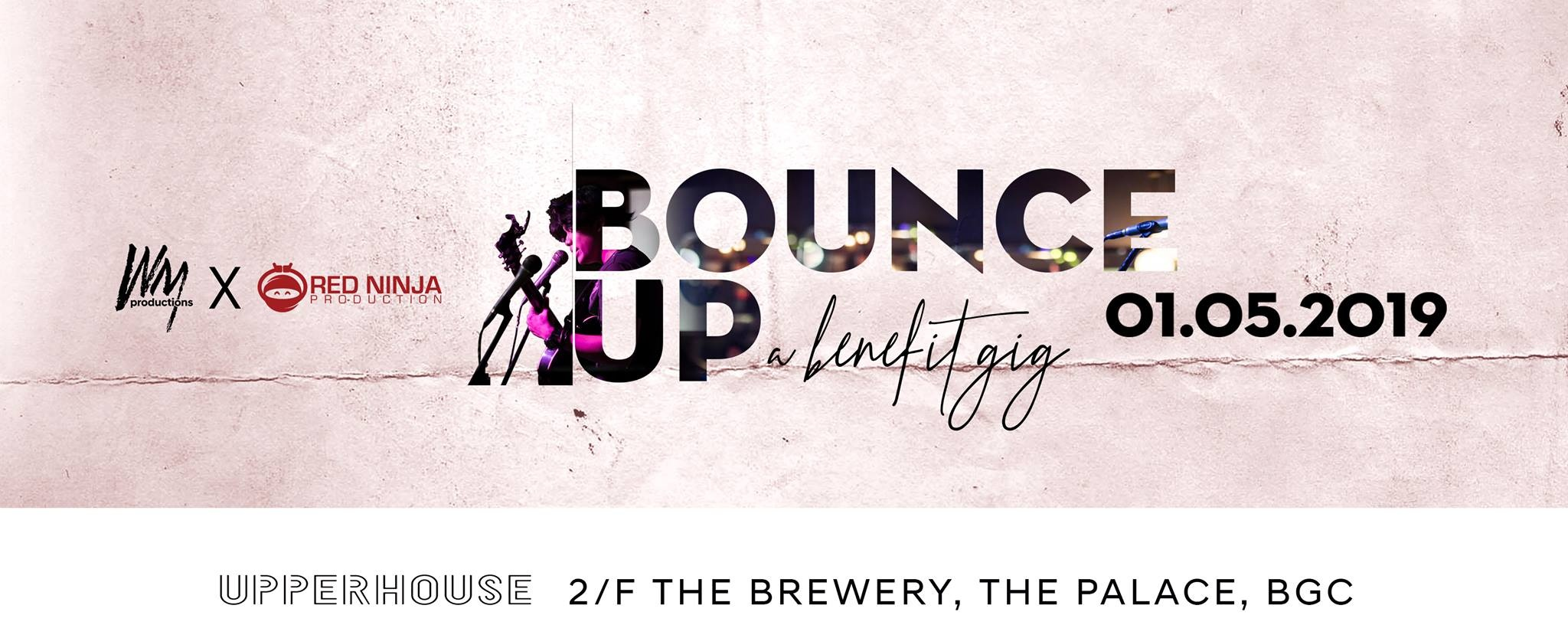 Bounce Up | A Benefit Gig