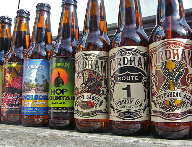Fordham & Dominion beer