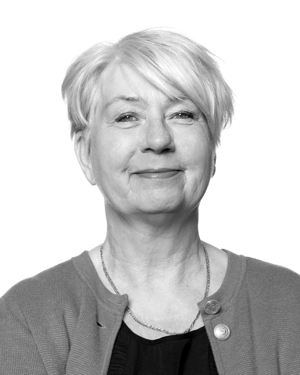 Birgitta Bergmark, press- och planeringsansvarig, Västerbottensteatern. Foto: Patrick Degerman.