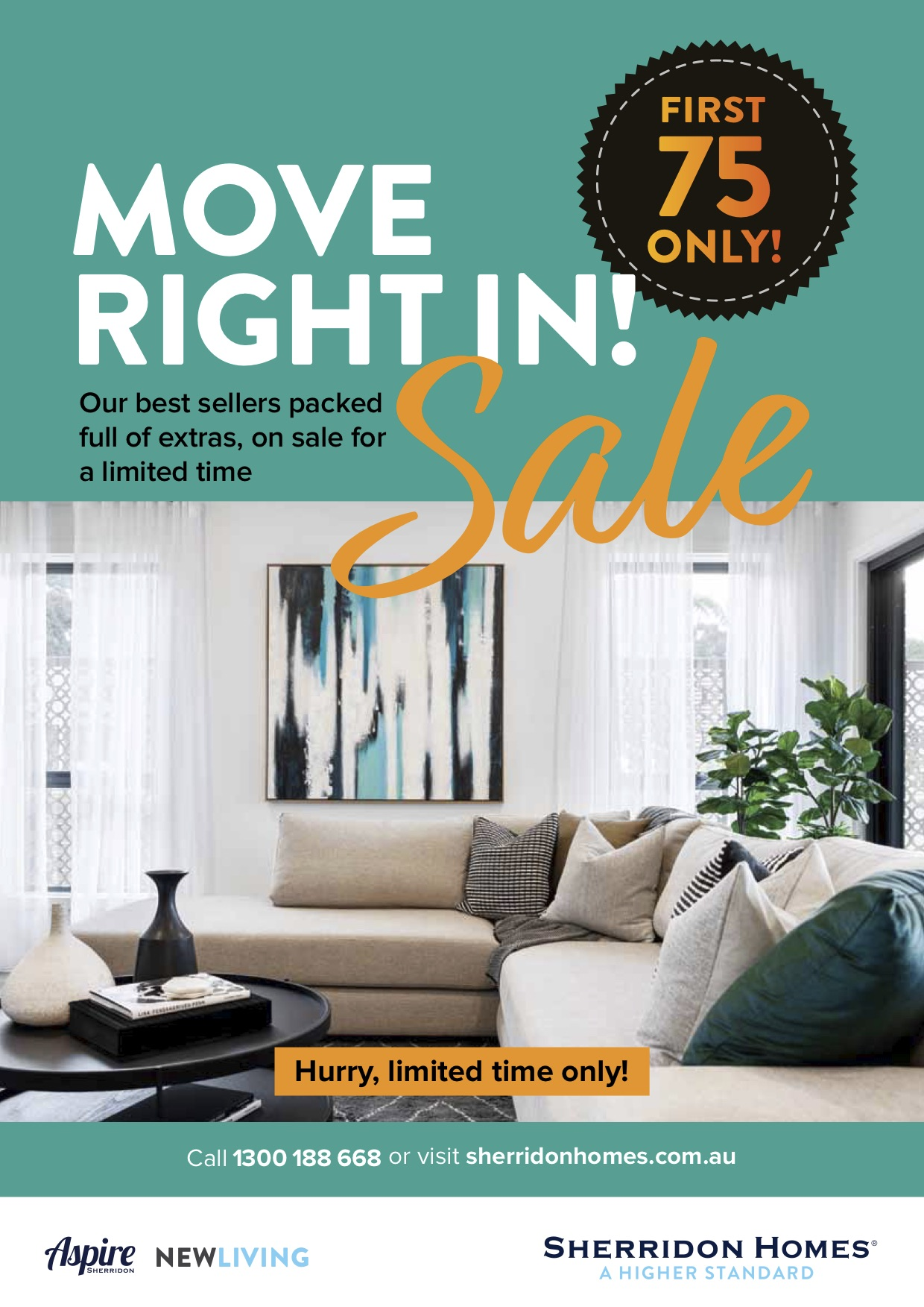 Move Right In! Sale