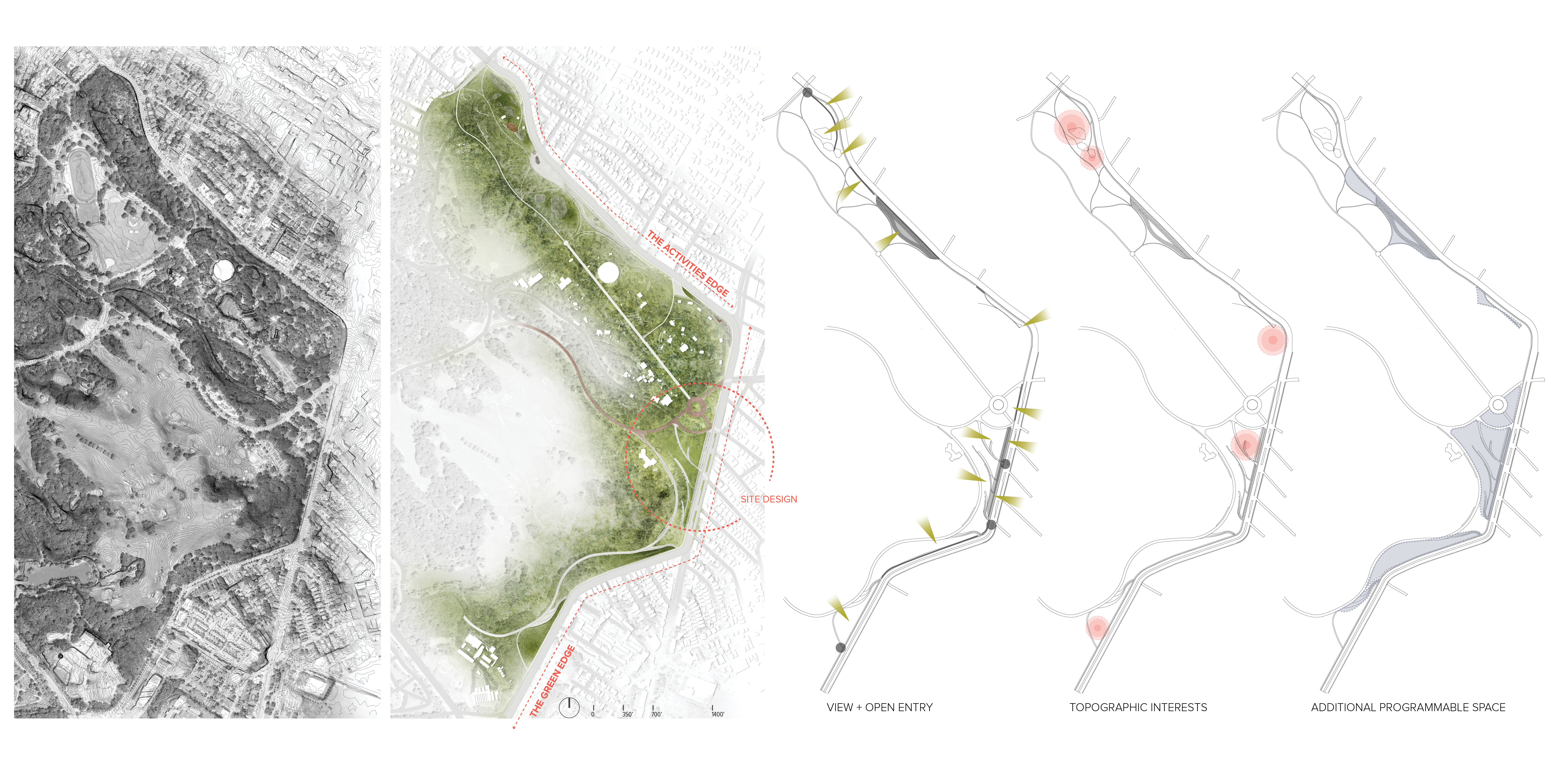 Eastern Edges - Overall Plan and Diagrams