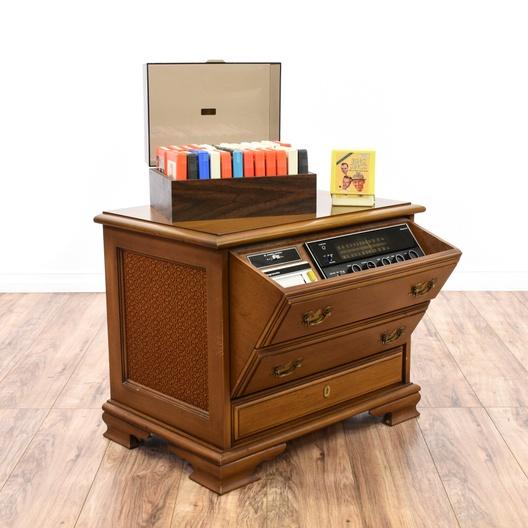 Pleasant Magnavox 8 Track Stereo Console End Table Loveseat Com San Diego Interior Design Ideas Gentotryabchikinfo