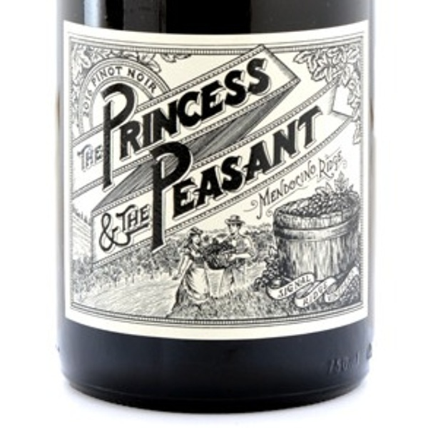 The Princess & The Peasant Signal Ridge Vineyard Mendocino 2016 Pinot Noir